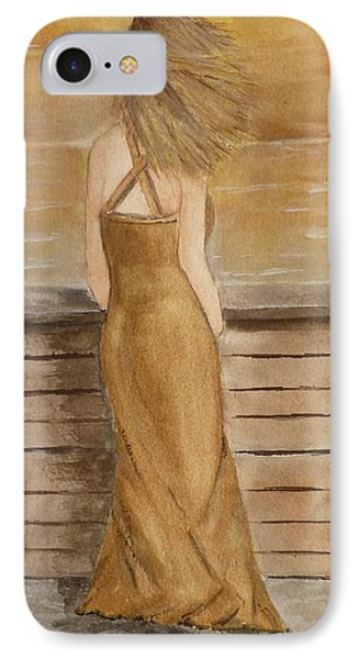 IPhone Case featuring the painting Golden Breeze by Kelly Mills