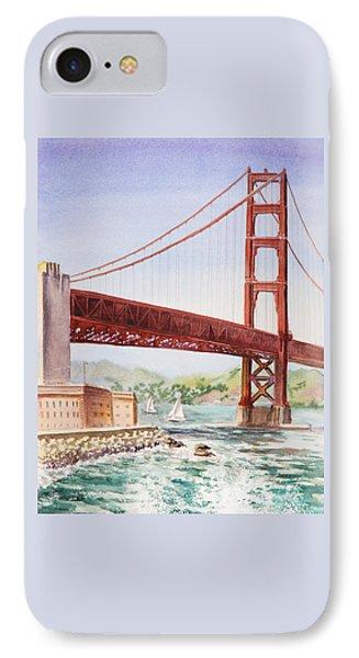Golden Gate Bridge San Francisco IPhone Case by Irina Sztukowski