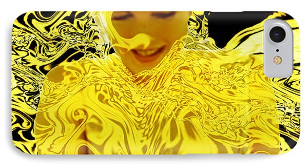 Golden Goddess IPhone Case by Seth Weaver