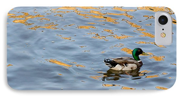 IPhone Case featuring the photograph Golden Ripples by Keith Armstrong
