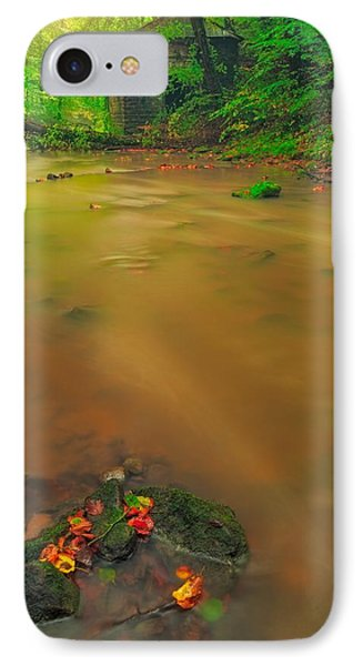 Golden River IPhone Case