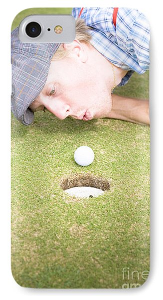 Golf Cheating IPhone Case