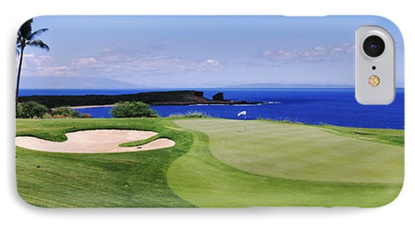 Golf Course At The Oceanside, The IPhone Case by Panoramic Images