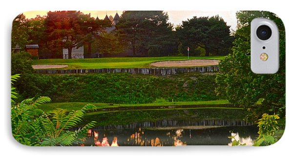 Golf Course Beauty IPhone Case by Frozen in Time Fine Art Photography