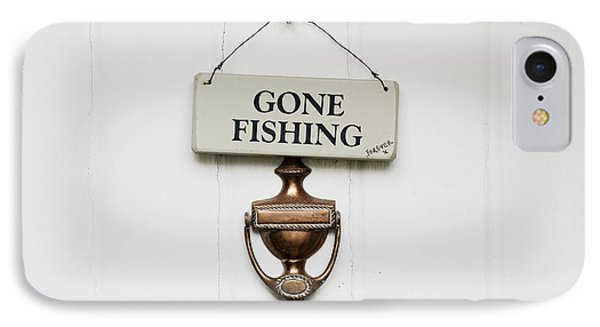 Gone Fishing Forever Phone Case by Tim Gainey