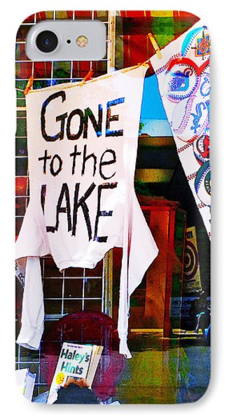 Gone To The Lake IPhone Case
