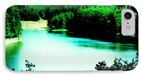 Gorge Waterway Victoria British Columbia IPhone Case