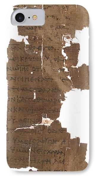 Gospel Of St John IPhone Case by British Library