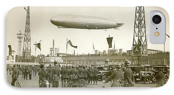 Graf Zeppelin Polar Flight Chart IPhone Case
