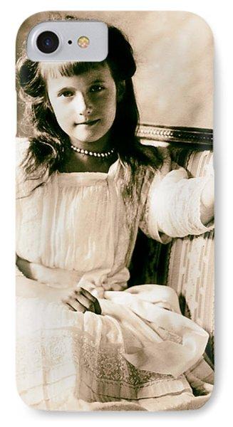 Grand Duchess Anastasia Nikolaevnav 1909 IPhone Case