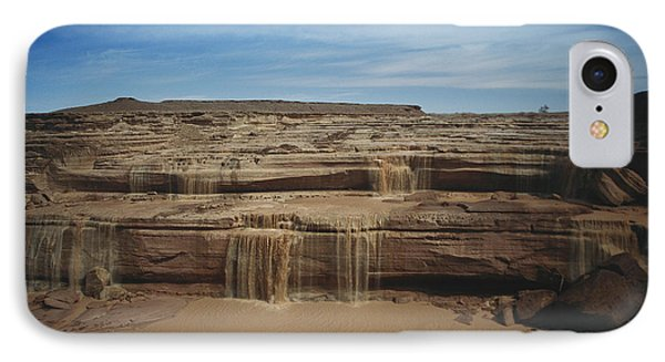 Grand Falls Of The Little Colorado Phone Case by Mark Newman