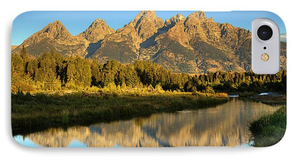 IPhone Case featuring the photograph Grand Teton by Alan Vance Ley