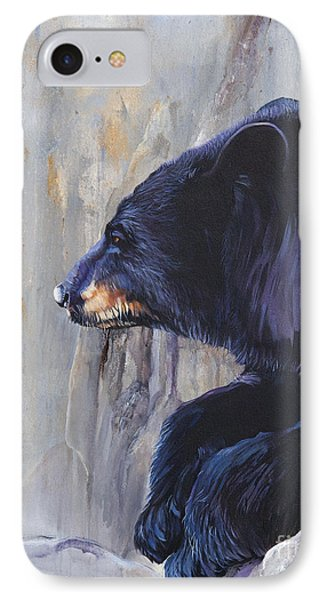 Grandfather Bear IPhone Case by J W Baker