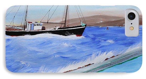 Grandpa's Boat IPhone Case by Bill Hubbard