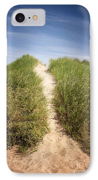 Grass On Sand Dunes IPhone Case by Elena Elisseeva