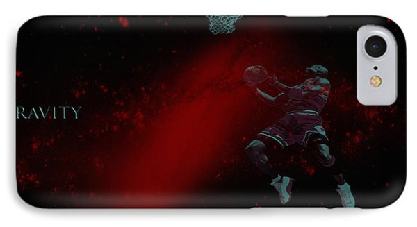 IPhone Case featuring the mixed media Gravity by Brian Reaves