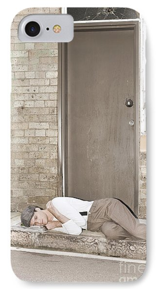 Great Depression Eviction IPhone Case by Jorgo Photography - Wall Art Gallery