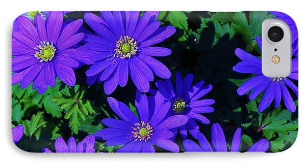 Grecian Wildflowers IPhone Case by John Wartman