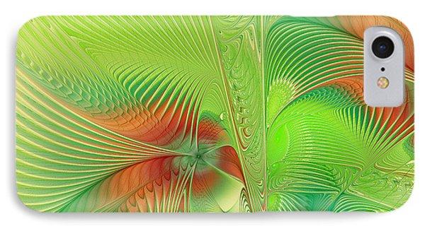 Green Machine IPhone Case by Deborah Benoit