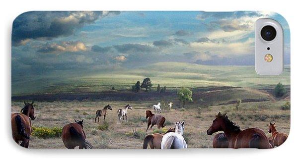 Greener Pastures Phone Case by Bill Stephens