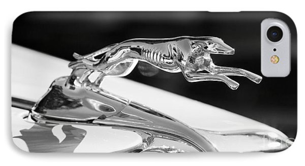 Greyhound Hood Ornament IPhone Case