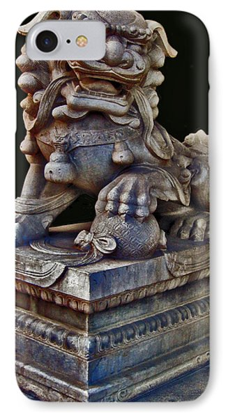 Guardian Dragon. Diptych. Made In China. Beijing. Next To The Secret City. IPhone Case