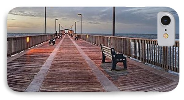Gulf State Pier IPhone Case by Michael Thomas