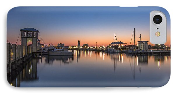 Gulfport Harbor IPhone Case by Brian Wright