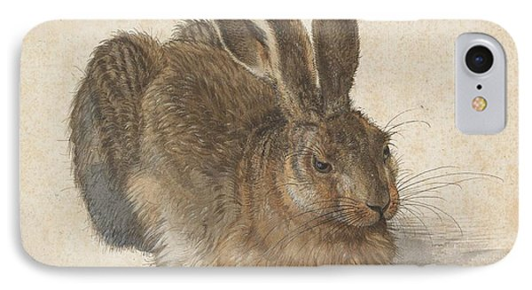 Young Hare IPhone Case by Albrecht Durer