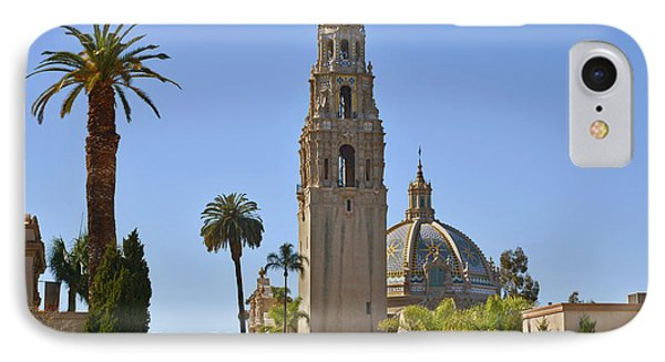 Balboa Park - The Soul Of San Diego IPhone Case by Christine Till