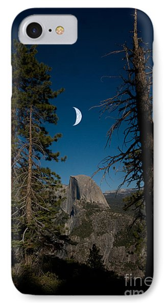 Half Dome, Yosemite Np Phone Case by Mark Newman
