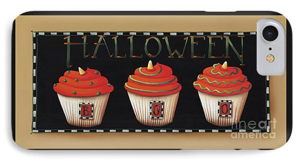 Halloween Cupcakes IPhone Case by Catherine Holman