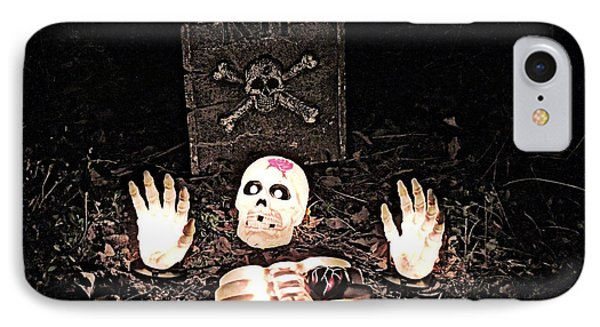 IPhone Case featuring the photograph Halloween Spooks by Eve Spring