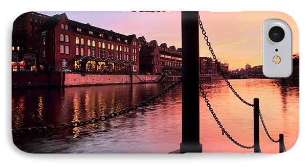 Hamburg Sunset IPhone Case