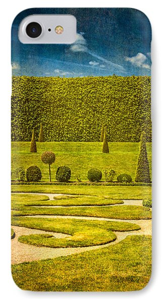 Hampton Court 'the Privy Garden IPhone Case by Lenny Carter