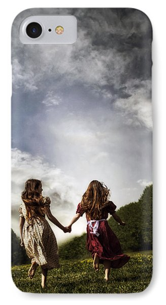 Hand In Hand Through Life IPhone Case by Joana Kruse