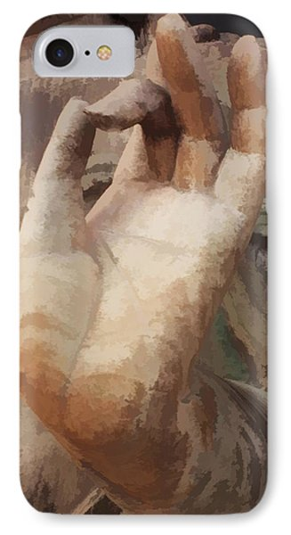 Hand Of Buddha C2014 IPhone Case by Paul Ashby