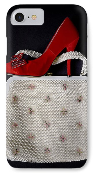Handbag With Stiletto Phone Case by Joana Kruse