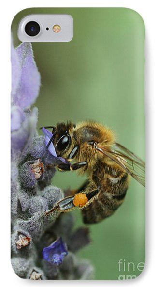 Happy Bee Phone Case by Joy Watson