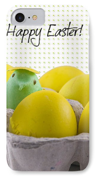 Happy Easter IPhone Case by Juli Scalzi