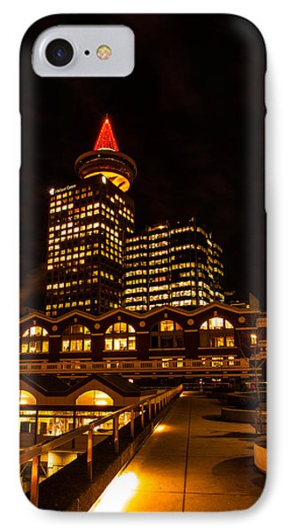 IPhone Case featuring the photograph Harbour Centre Christmas Tree by Haren Images- Kriss Haren
