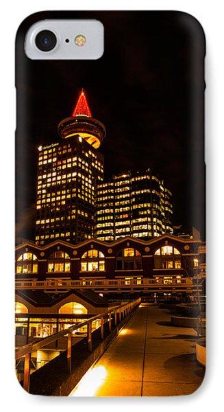 Harbour Centre Christmas Tree IPhone Case by Haren Images- Kriss Haren
