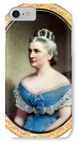 Harriet Lane, First Lady IPhone Case by Science Source