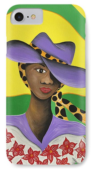 Hat Appeal Phone Case by Patricia Sabree