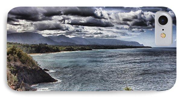 Hawaii Big Island Coastline V2 Phone Case by Douglas Barnard