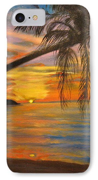 Hawaiian Sunset 11 IPhone Case