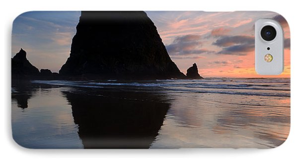 Haystack Reflections Phone Case by Mike  Dawson