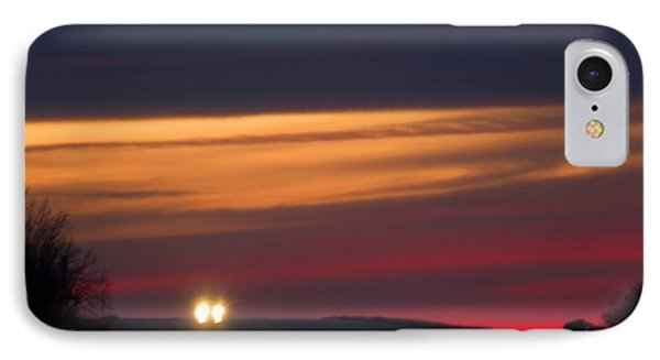 Headlights IPhone Case by Bob Pardue