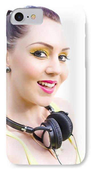 Headphones IPhone Case by Jorgo Photography - Wall Art Gallery