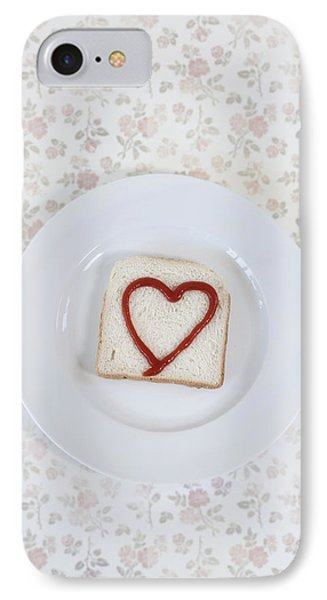 Hearty Toast Phone Case by Joana Kruse